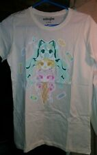 "Vocaloid Hatsune MIKU/Kagamine RIN/Megurine LUKA ""Ice Cream"" T-Shirt"