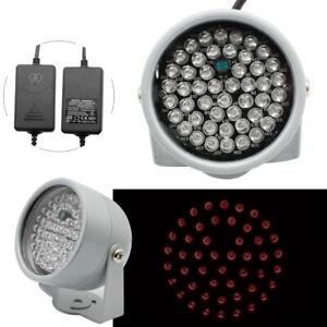 48 LED IR Infrarot Scheinwerfer Nachtsicht Licht Illuminator Lampe CCTV DC 12V
