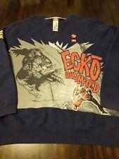 Vintage Ecko Marvel 90's Men L Navy Red White Pullover Sweater Captain America