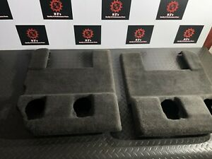 CADILLAC ESCALADE 2007-2014 OEM 2ND SECOND ROW SEAT FLOOR CARPET COVER RUG 84K