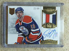 13-14 Panini Dominion Horizontal Auto Patch #AP-NZ JUSTIN SCHULTZ Rookie RC /99