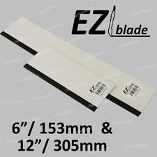 """2 x EZIblade Squeegee  12""""/305mm + 6""""/153mm - Plastic/Rubber with 3 in 1 use"""