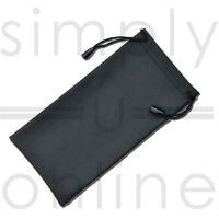 BLACK Glasses Sunglasses Spectacles 3D Phone Case Drawstring Bag Pouch Wallet