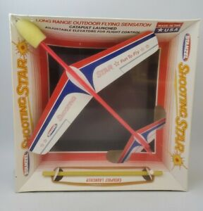 Vintage Shooting Star Airplane STANZEL # 606 mint in Sealed box USA