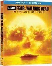 #7 FEAR THE WALKING DEAD Second Season Brand New Blu-Ray Set FREE SHIPPING
