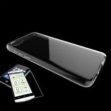 Für HTC Desire 12 Silikoncase Transparent Tasche + 0,3 H9 Hart Glas Hülle Neu