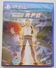 Saturday Morning RPG PS4 Playstation 4 LIMITED RUN GAMES #2 NEW SEALED 1800 MADE