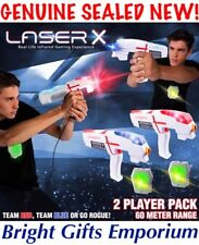 LASER X Double Pack 2 Player Laser Tag Two Player Skirmish Birthday Games Gaming