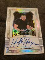 2020 Leaf Ultimate Wrestling HULK HOGAN Enshrined Autograph Auto 1/3
