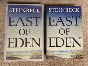 FEL John Steinbeck EAST OF EDEN THE FIRST EDITION LIBRARY FACSIMILE hc/dj FEL