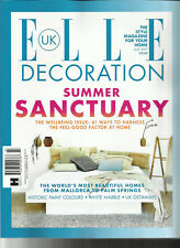 ELLE DECORATION MAGAZINE UK,   THE STYLE MAGAZINE FOR YOUR HOME   JULY, 2017