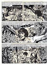 TAROU CONTRE LES SOLDATS JAPONAIS (BOB DAN) PLANCHE ORIGINALE AREDIT  PAGE 15