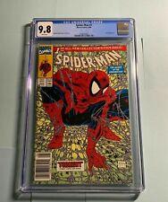 Spider-Man #1 CGC 9.8 1990 NEWSSTAND HIGH GRADE NEAR MINT McFarlane copy 2