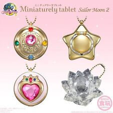 SAILOR MOON Miniaturely Tablet Key Charm Figure Part 2 All 4 type set