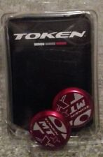 Token MTB Red Bar Ends BRAND NEW