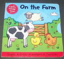 2008 Board Book On The Farm Movable Doors Ducks What is Behind the Barn Door? Vo