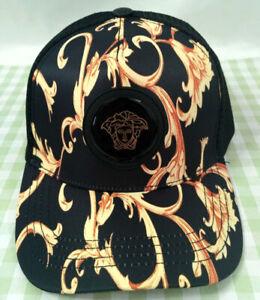 Men Womens Versace Baseball Cap Adjustable Strap Cotton Golf Hip-hop Hat