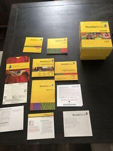 Rosetta Stone Homeschool Spanish(Latin America) Level 1 - Full Version for...