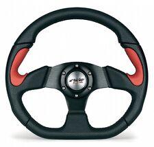 X2330PUN/PR Volante Auto Sportivo in Eco Pelle Simoni Racing Fiat 500 126 Epoca