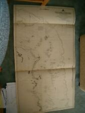 Antique Admiralty Chart 2923 AUSTRALIA - HOPE ISLANDS to TURTLE GROUP 1891 edn
