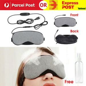 Temperature Control Heat Steam Cotton EyeMask Dry Tired Compress USB Hot Pads