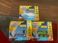 THOMAS THE TANK ENGINE DIE-CAST THOMAS HAROLD AND PERCY TRAINS VEHICLES NEW