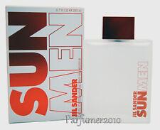Jil Sander Sun Men 200ml EDT Eau de Toilette Spray Neu & Originalverpackt