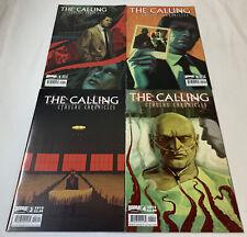 2010 THE CALLING CTHULHU CHRONICLES comics #1 2 3 4 ~ FULL SET ~ H P LOVECRAFT