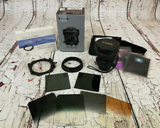 Canon TS-E 17mm F/4.0 L TS Lens + filter adapter + holder + filters