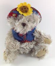 "Brass Button Bear Collection ""Blossom"" Sunflower 9"" Sitttiing"