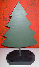 Wood Mini Christmas Tree With Stand 15""