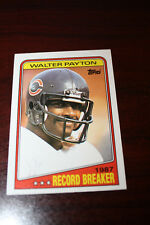 1988 Topps #5 Record Breaker Walter Payton
