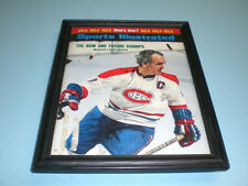 1973 CANADIENS HENRI RICHARD FRAMED SI PRINT