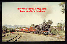 LMH Postcard INDIA  INDIAN RAILWAY Western Div 4-6-2 #2328 Narrow Gauge Railroad