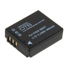 Power batterie cga-s007 s007 pour panasonic lumix dmc-tz5