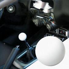 Universal JDM GLOSSY WHITE ROUND BALL SHIFT Knob Fits For TOYOTA SK107 M12X1.25