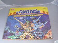 Golden Captain Power Soldiers sticker / activity book yellow New unused 1987