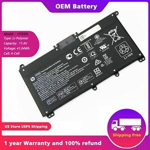 Genuine HT03XL battery For HP L11421-2C2, 11.55v 41.7Wh L11119-855 15-CS 15-DA