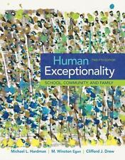 Human Exceptionality: School, Community, and Family (MindTap Course List) by Ha