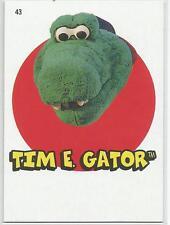 Tim E. Gator Kannapolis  2016 Topps Heritage Minors '67 Topps Stickers