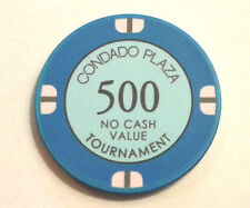 New listing $500 Condado Plaza Hotel Casino Tournament Chip San Juan Puerto Rico Cpz Chipco