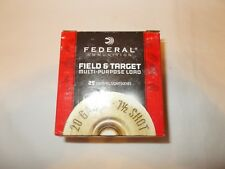 FEDERAL AMMUNTION SHOTGUN SHELL EMPTY BOX 20GA 7.5 SHOT