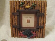 BLACK LAB RESIN 3X3 PICTURE FRAME BY RUSS NWOB