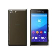 Cover per Sony Xperia M5, Xperia M5 Dual, in silicone TPU trasparente Nero