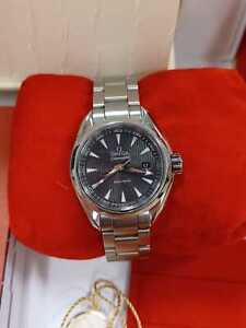 Omega Seamaster Aqua Terra 23110306006001 2013 box and papers