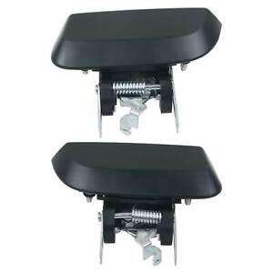2PCS REAR OUTER DOOR HANDLES FIT NISSAN PATHFINDER R51 82607-EA502 82606-EA502