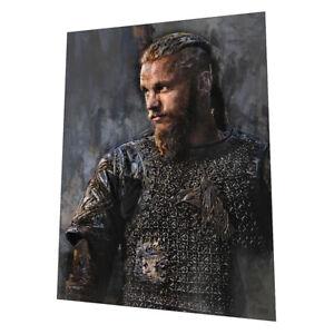 "Vikings ""Ragnar Lothbrok"" Wall Art - Graphic Art Poster"