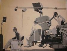 Listed Joseph Watson Little illustration drawing painting art movie tv studio