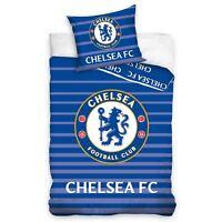 Chelsea fc Assorti Set Housse de Couette Simple 100% Coton Européen Réversible