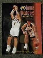 Iowa Hawkeye Media Guide 1997-1998 Basketball U of I